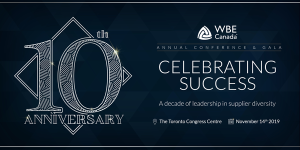 JOIN US AT OUR 10th ANNUAL CONFERENCE & GALA