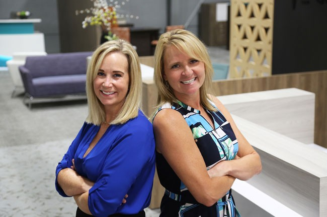 Rieke Office Interiors Announces New Partnership Between CEO, Melissa Kehl, and Colleen Baader, Senior Vice President